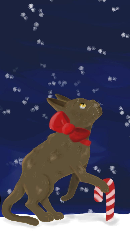 Mein Zeichenkram Weihna11
