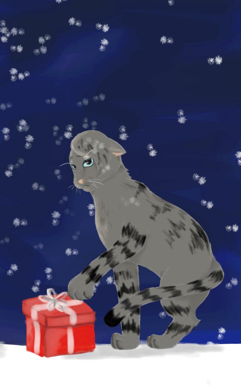 Mein Zeichenkram Weihna14