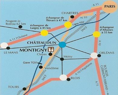 Le château de Montigny-le-Gannelon Plan4010