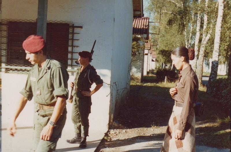 VISITE du Camp d'IDRON en 1974, un premier pas vers l'AMICALE des anciens du 1er RCP en 1979. Numyri11