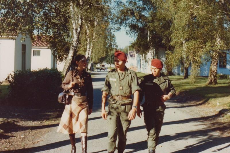 VISITE du Camp d'IDRON en 1974, un premier pas vers l'AMICALE des anciens du 1er RCP en 1979. Numyri12