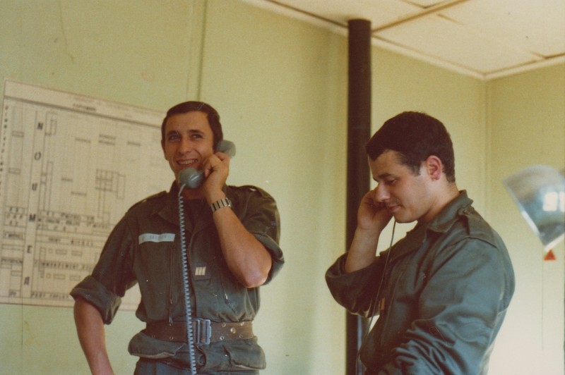 VISITE du Camp d'IDRON en 1974, un premier pas vers l'AMICALE des anciens du 1er RCP en 1979. Numyri14
