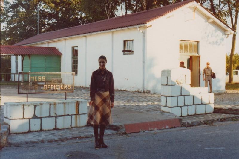 VISITE du Camp d'IDRON en 1974, un premier pas vers l'AMICALE des anciens du 1er RCP en 1979. Numyri18