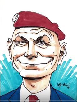 Bistro Libertés avec le Général Christian Piquemal Piquem10