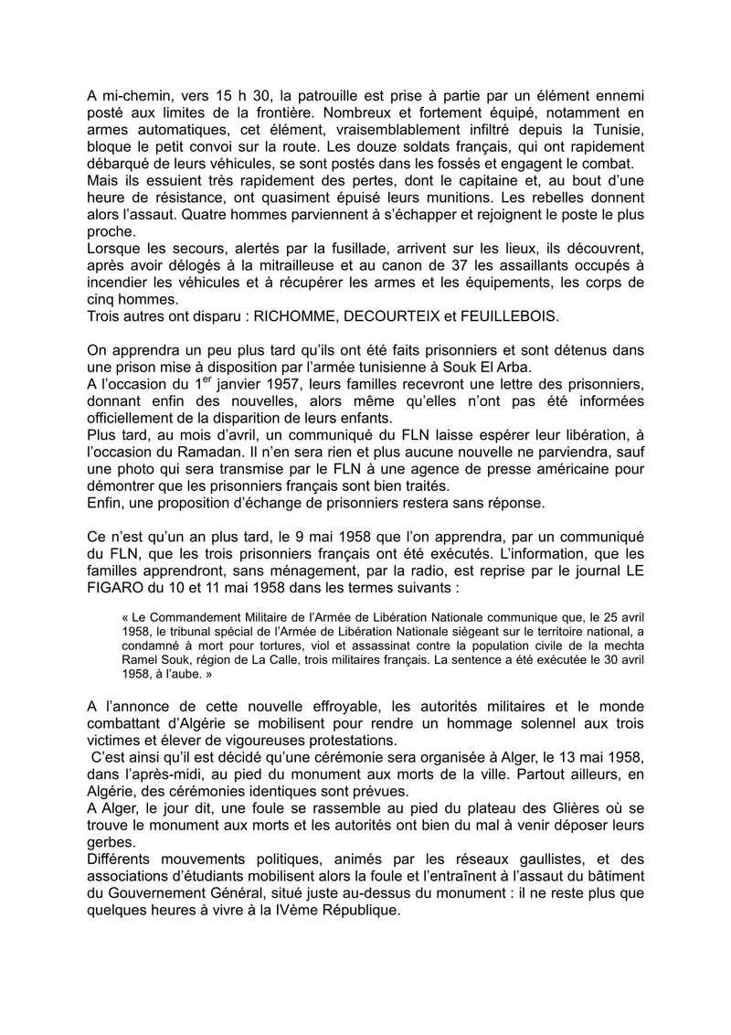 CÉRÉMONIE : Ravivage de la Flamme de l'Arc de Triomphe par l'Association des soldats disparus en Algérie (SOLDIS ALGERIE) à Paris le 30 avril 2018 à 18h00. Trois_11