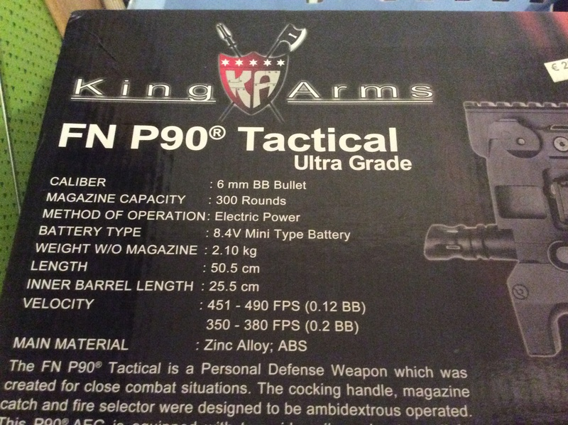 Vend P90 king arms  1c7a5810