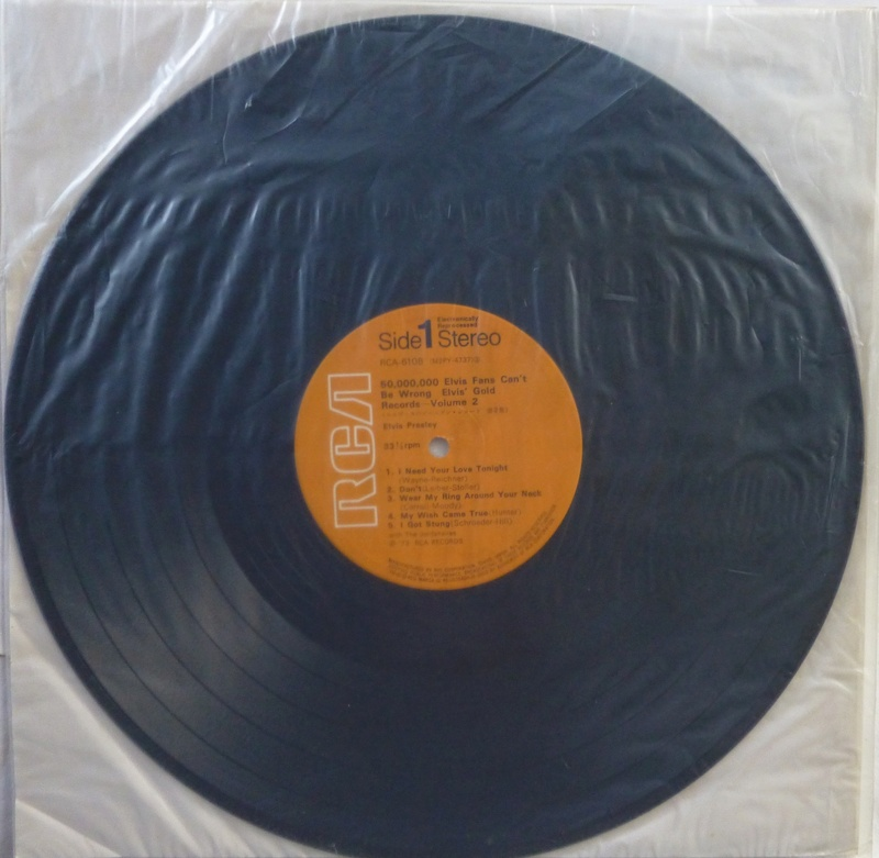 ELVIS' GOLDEN RECORDS VOL. 2 1b10