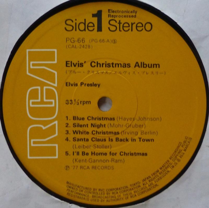 ELVIS' CHRISTMAS ALBUM 1e13