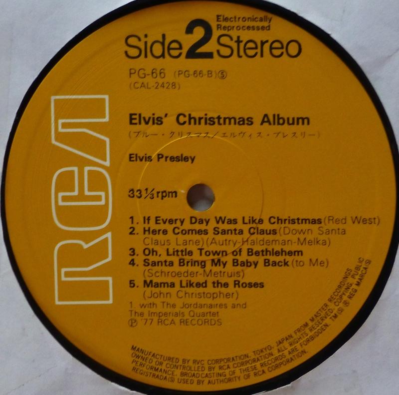 ELVIS' CHRISTMAS ALBUM 1f13