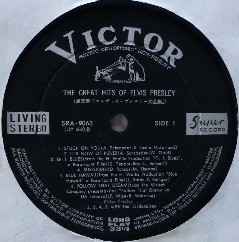 Presley - THE GREAT HITS OF ELVIS PRESLEY Elvis_67