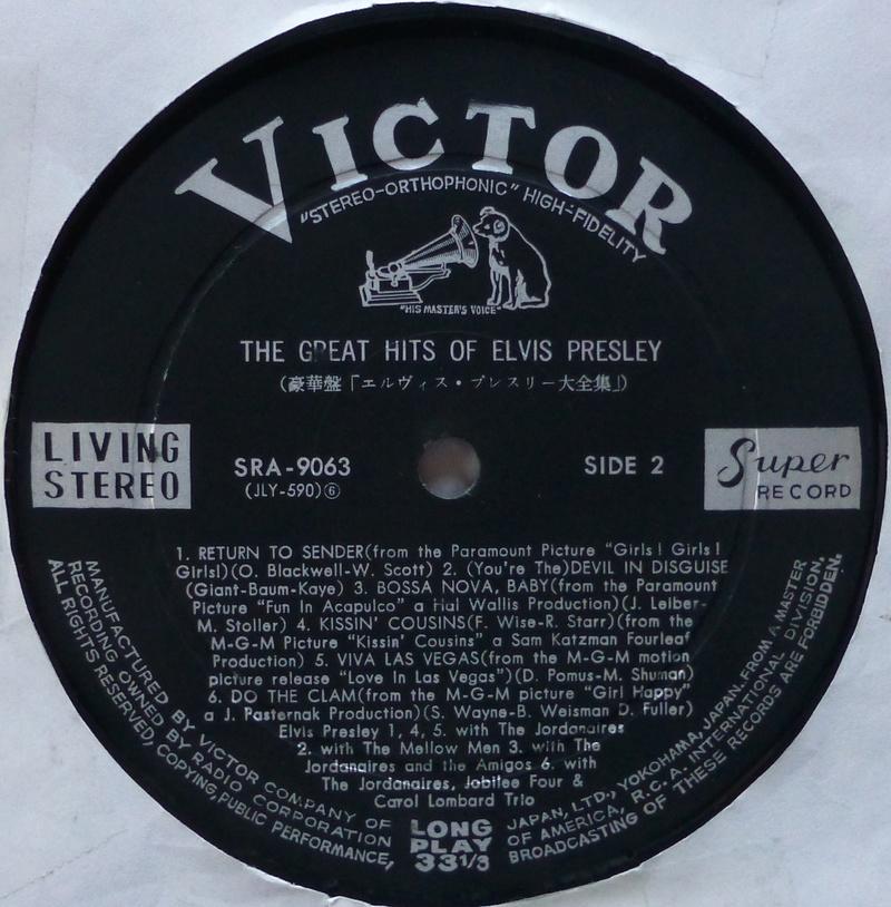Presley - THE GREAT HITS OF ELVIS PRESLEY Elvis_68