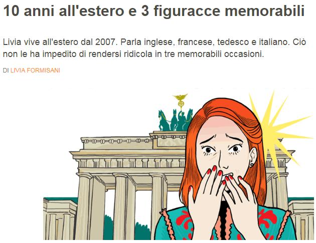 10 anni all'estero e 3 figuracce memorabili Livia10