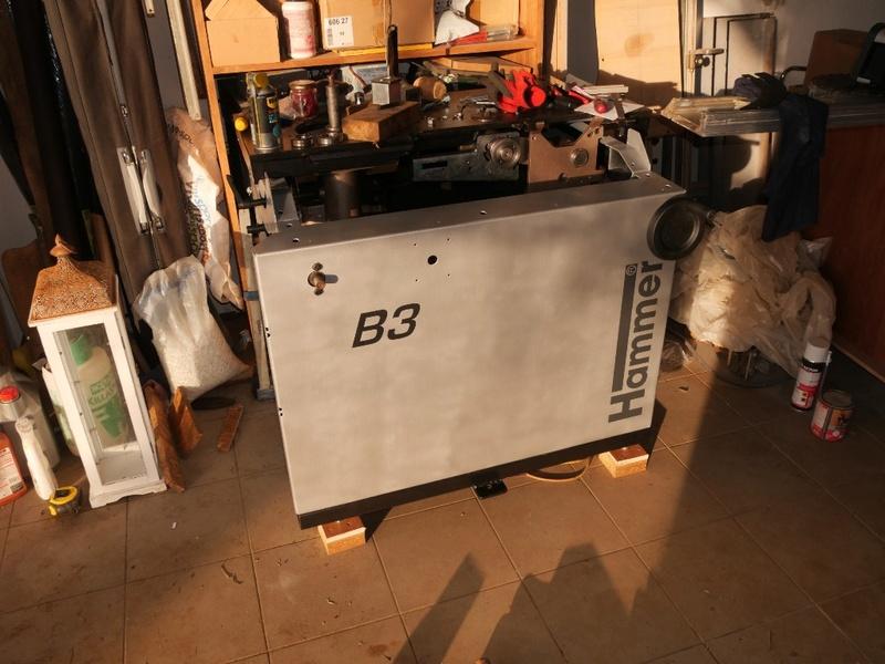 Rénovation Toupie Scie Hammer B3 01000810