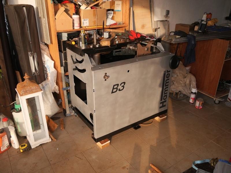 Rénovation Toupie Scie Hammer B3 01000811