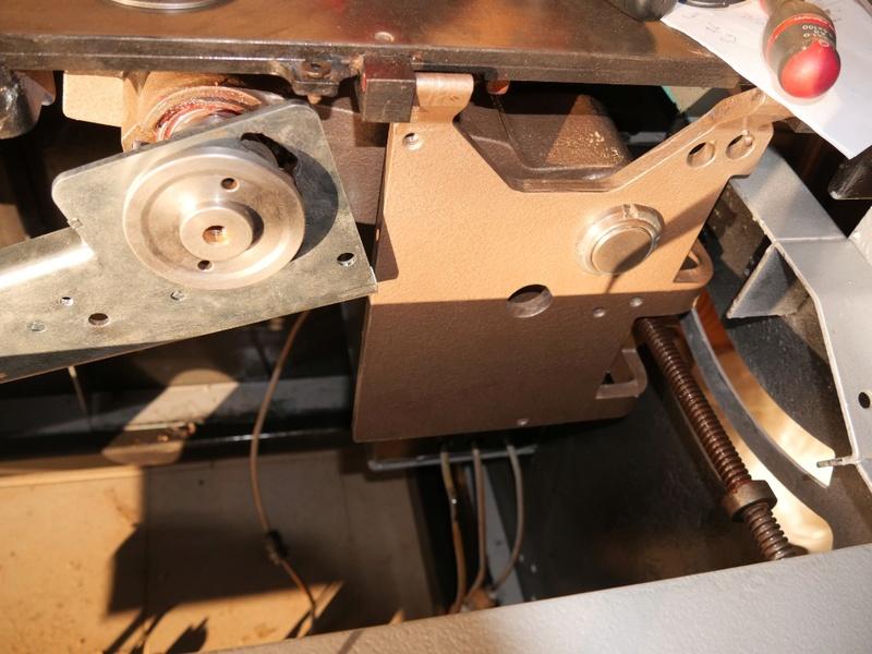 Rénovation Toupie Scie Hammer B3 01000912