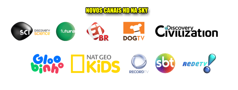 Novos canais na SKY dia 17 de outubro 22556210