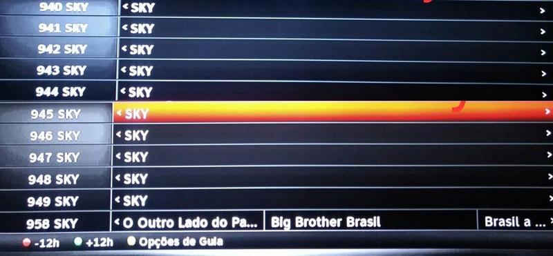 canais - SKY ativa mais 1 TP e há novos canais em HD em teste Yndice12