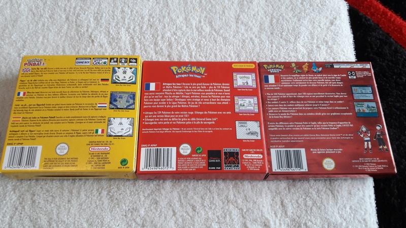 (est) gb micro, pack roi lion, jeux gb pokemon etc... 20180314