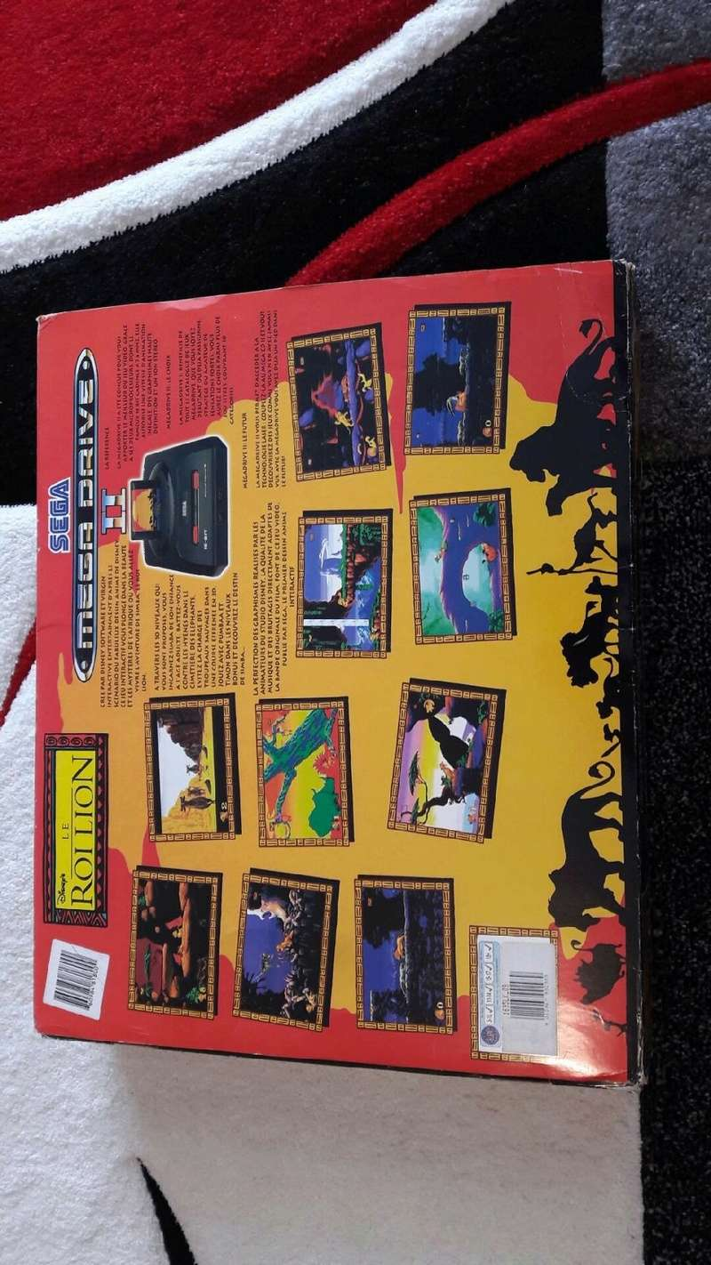 (est) gb micro, pack roi lion, jeux gb pokemon etc... V_779011
