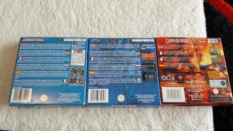 (est) gb micro, pack roi lion, jeux gb pokemon etc... V_ce6b10