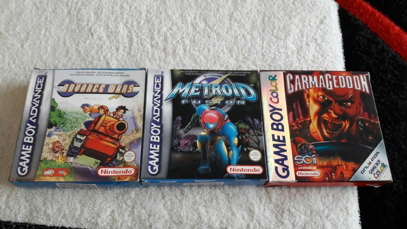 (est) gb micro, pack roi lion, jeux gb pokemon etc... V_e32f10