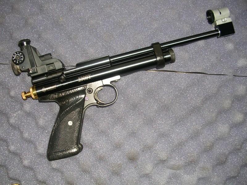 hausse/guidon sur carabine non équipée Crosma11