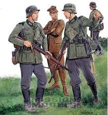 Différence de couleur uniforme Allemand Soldat10