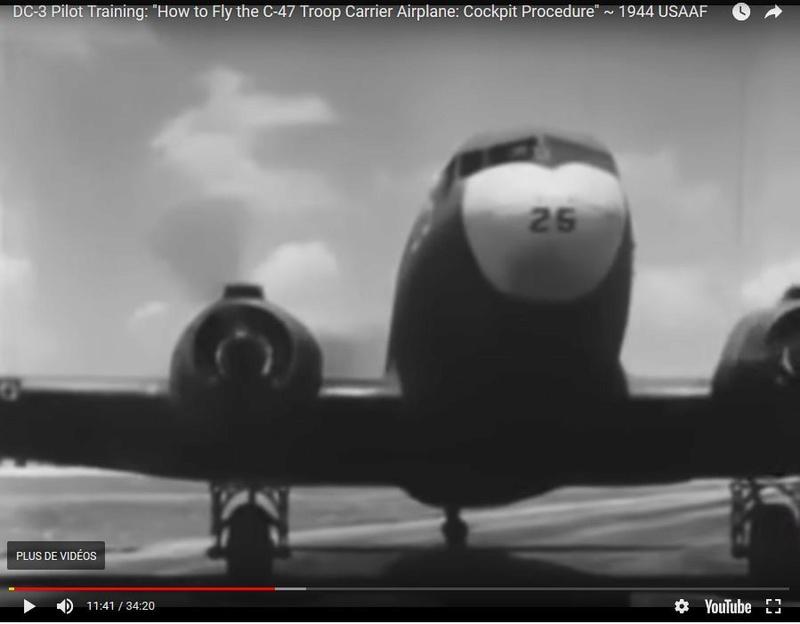D-Day : une escadrille de C47 pour les commémorations du débarquement en 2019 Captur10