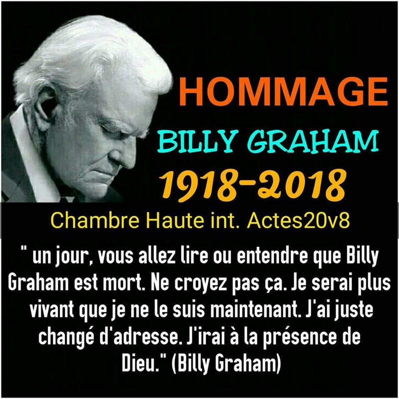 Disparition de  Billy Graham 28167110