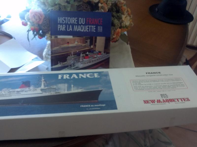 Le France New Maquettes mon futur projet Img_2618
