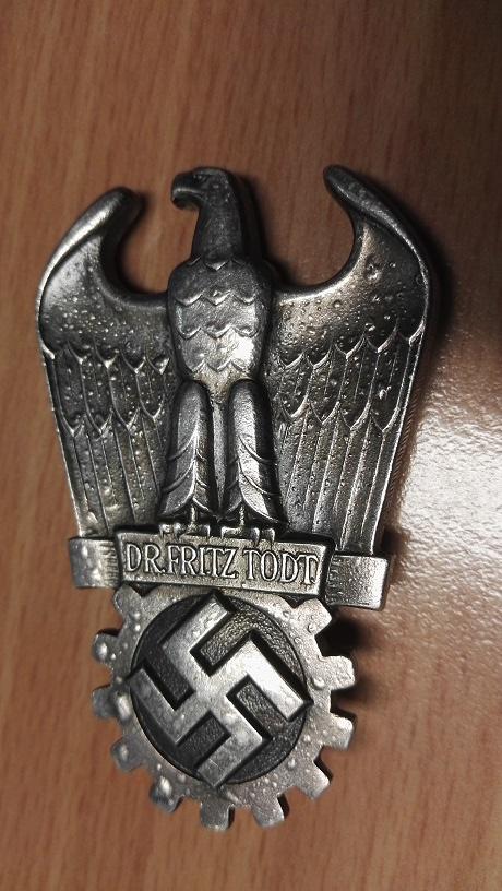 badge Dr Fritz Todt Img_2072