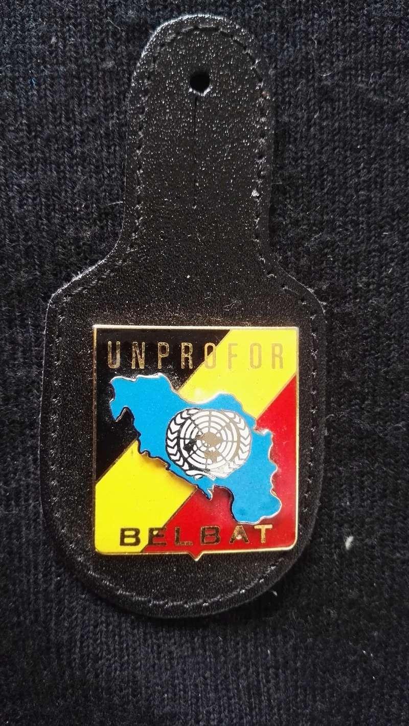 ARMEE BELGE : BRELOQUES MISSION EN EX-YOUGOSLAVIE Img_2164
