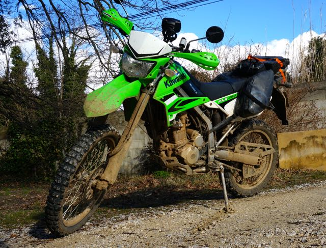 Laurent60 - Ma moto verte : 250 KLX  Kakawe11
