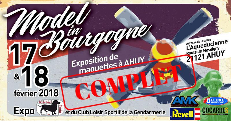 Model In Bourgogne - Expo Dhm-kit & CLSG Dijon - 17 & 18 Février 2018 Affich16