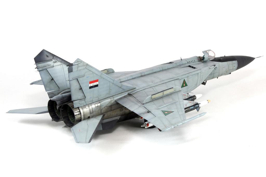 iraq - 1/48 Mig-25PDS Iraq - Terminé!! Img_2058