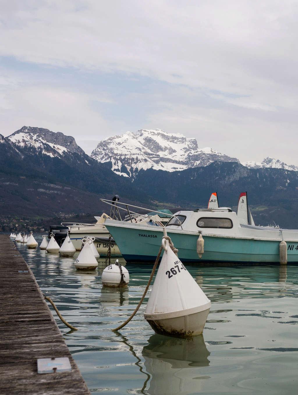 En ballade au Col de Leschaux au dessus du Lac d'Annecy Retour11
