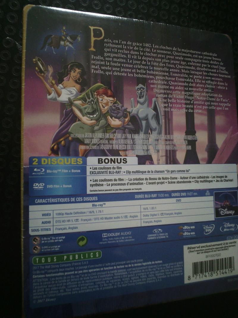 Les Blu-ray Disney en Steelbook [Débats / BD]  - Page 6 Img_2114