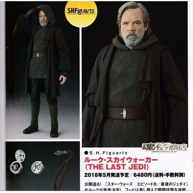 STAR WARS S.H.Figuarts - LUKE SKYWALKER  - The Last Jedi Image16