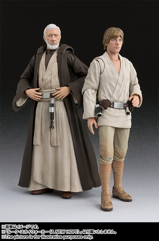 STAR WARS S.H.Figuarts - BEN KENOBI - A New Hope Image26