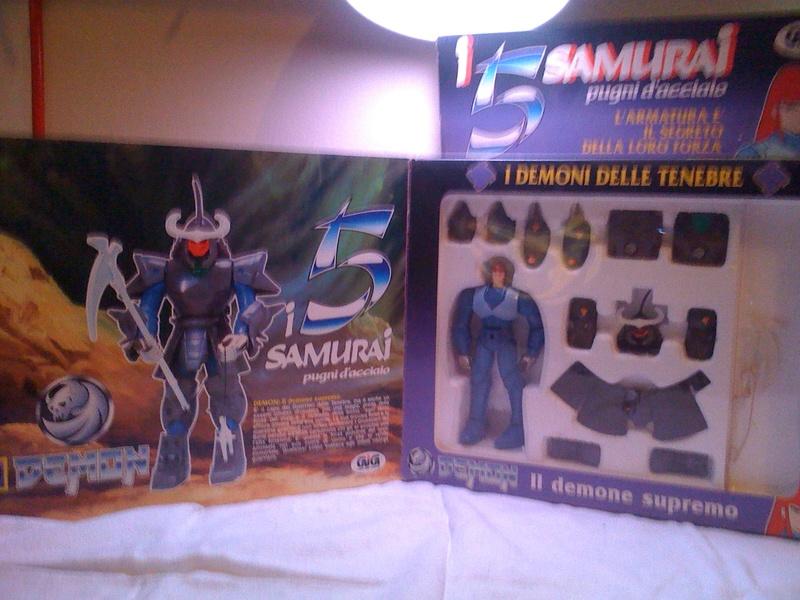 """Vendo - 5 Samurai """"Pugni D'acciaio"""" - Demon Immagi12"""