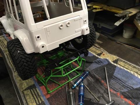 RC4WD Hybrid Jeep Wrangler YJ Xtrem  Receiv10