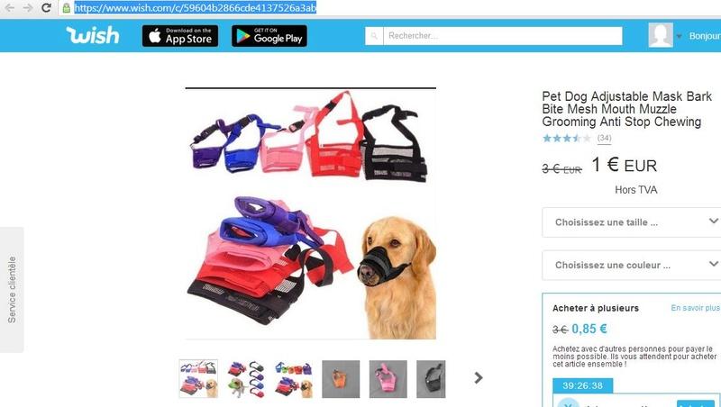 Information utile pour tout propriétaire de chiens! ;) Test210