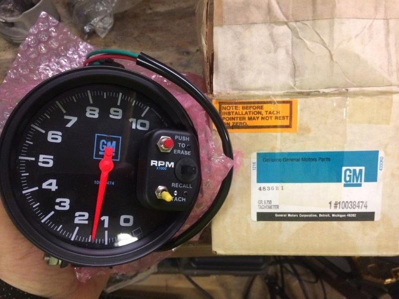 GM Performance Parts Gauges 9f78cc10
