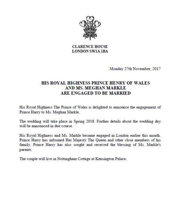 Prince Harry & Meghan Markle are engaged Prince10