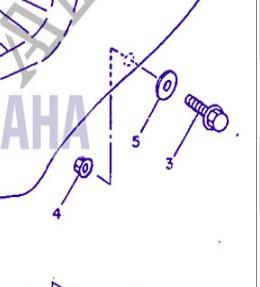 Recherche rondelles à collerette pour fixation de la selle Fixati10