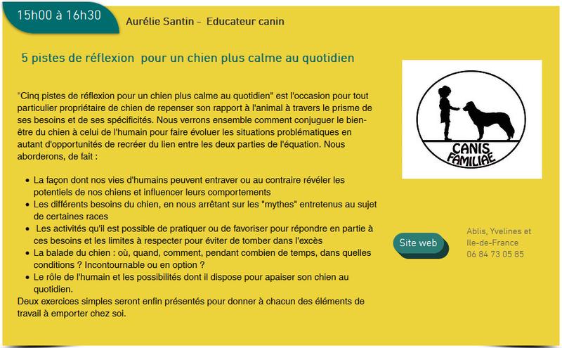 Salon de l'éducation canine et du bien-être animal - Rennes (35) - 22 avril 2018  - Page 2 Conf10