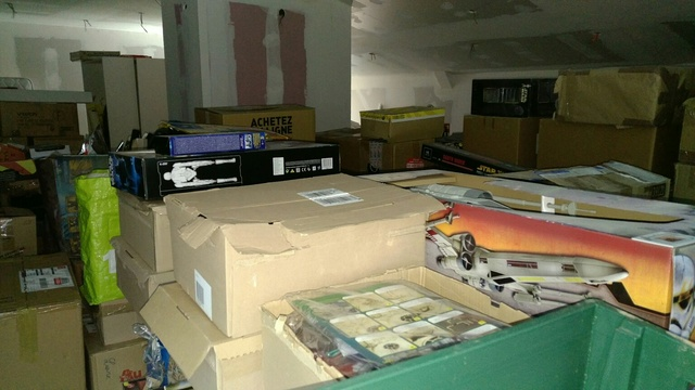 La collection ( de cartons ) d'Homerix Buro10