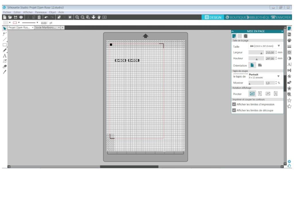 Portrait 2 : Problème échec alignement repères Imprim11