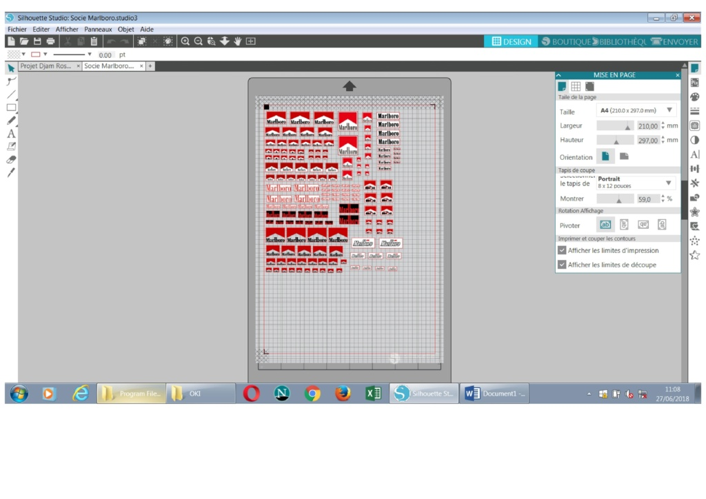 Portrait 2 : Problème échec alignement repères Imprim12
