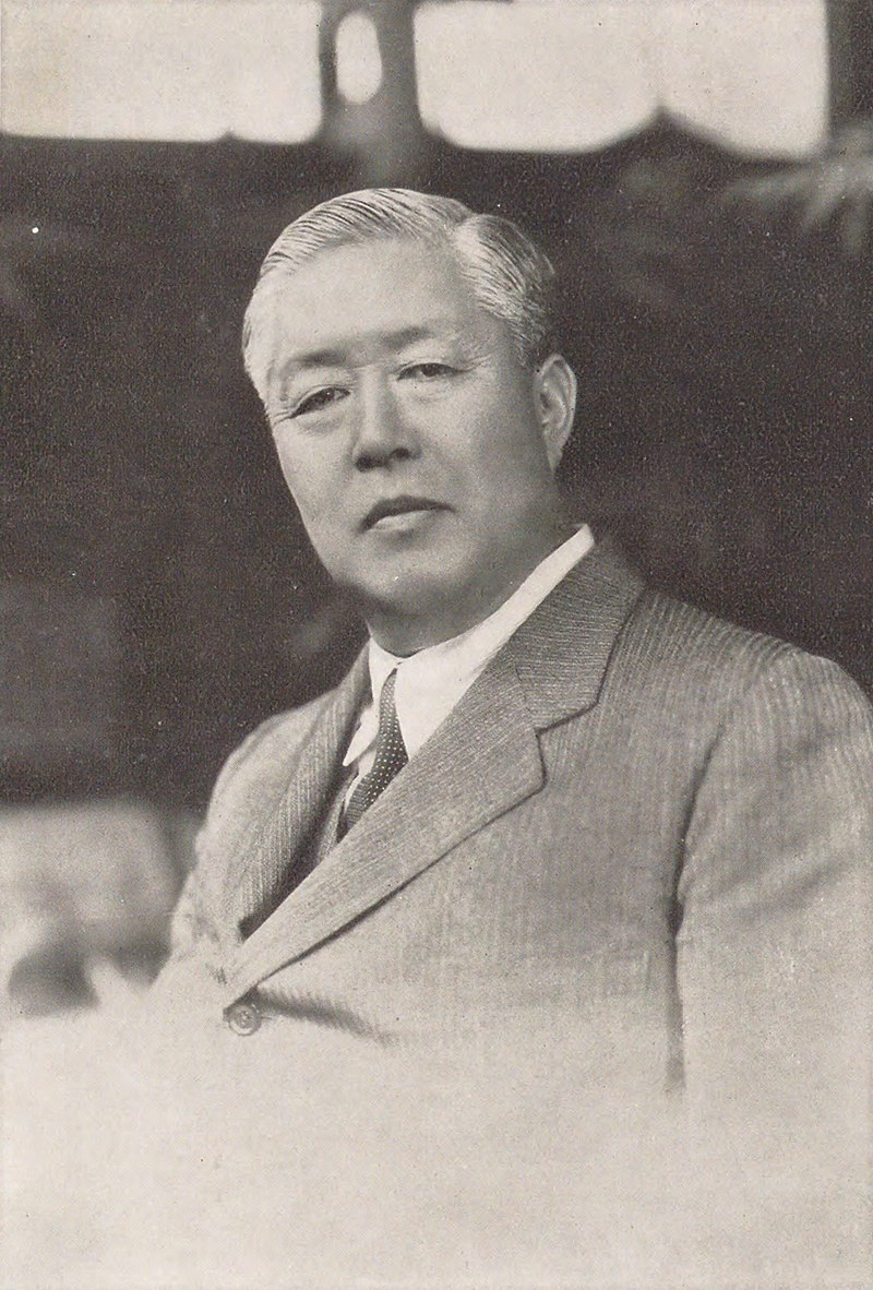 1938 - M. Y Sugimura (japanese ambasador in France) shows judo with Kawaishi in Paris 800px-10